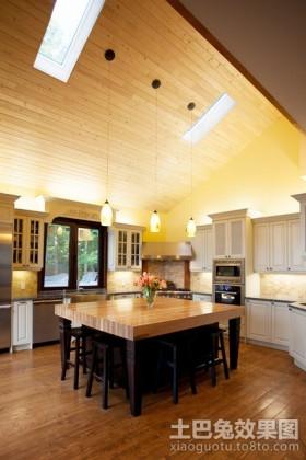 小复式楼厨房装修效果图大全2012图片