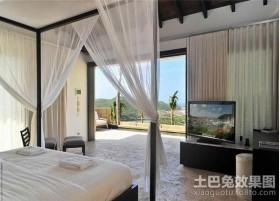 四居室卧室装修效果图大全2012图片