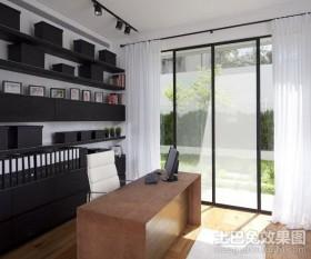 小复式书房装修效果图大全2012图片