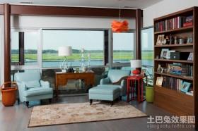 童话般的意境美式风格书房装修效果图大全2012图片