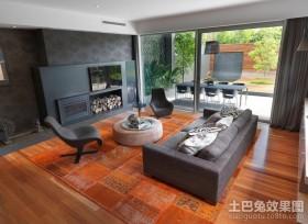 田园气息的美式乡村风格客厅装修效果图大全