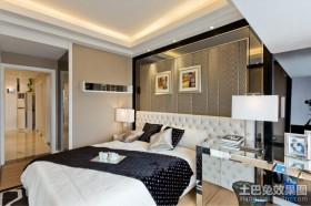 两房两厅家庭主卧室装修效果图大全2012图片