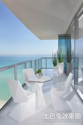 海景别墅图片大全 时尚的阳台装修效果图大全2012图片