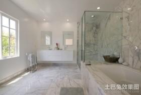 现代简约风格卫生间装修设计效果图片