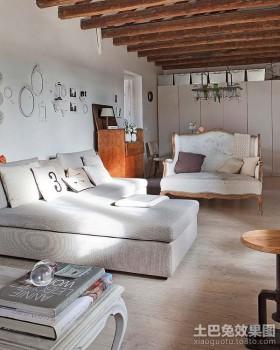 北欧风格小户型客厅装修效果图大全2012图片