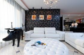时尚艺术与奢华地中海客厅装修效果图大全