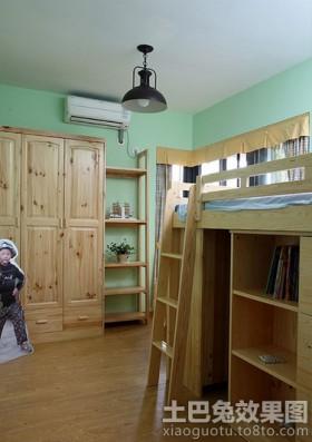 田园风格儿童房装修效果图欣赏