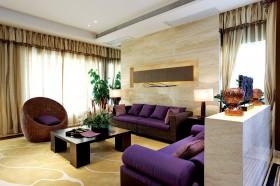 创意木板房客厅沙发背景墙装修效果图大全