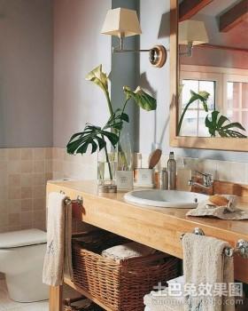 70平小户型舒适的卫生间装修效果图大全2012图片