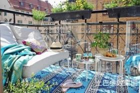 唯美浪漫的阳台装修效果图大全2012图片