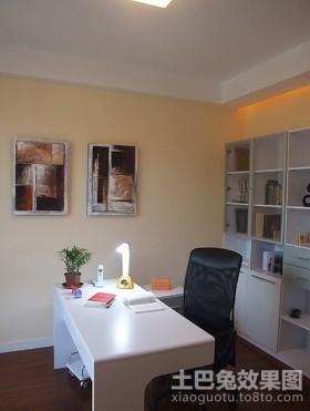 两室两厅简约的书房装修效果图大全2012图片