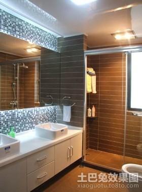两室两厅卫生间瓷砖装修效果图