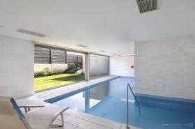 别墅休闲区游泳池设计效果图
