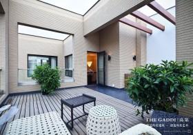 露天阳台装修效果图  休闲的阳台装修效果图