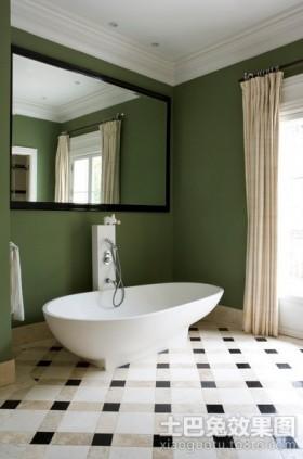 现代豪华简约的卫生间装修效果图大全2012图片
