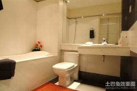 120平米三居室卫生间装修效果图大全2012图片