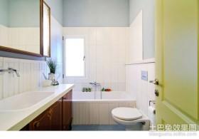 苏格兰风情三居室厕所装修效果图