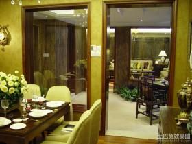 90平小户型东南亚风格餐厅装修效果图大全2012图片