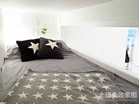 40平超小户型星星点缀的卧室装修效果图大全2012图片