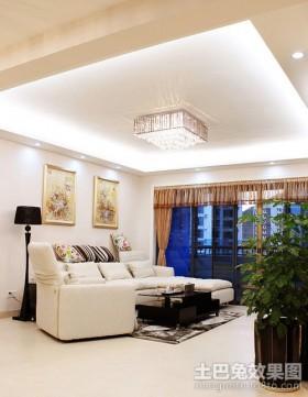 两居室客厅装修效果图大全2012图片
