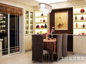 两居室餐厅装修效果图大全2012图片