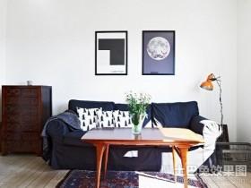 40㎡小户型客厅沙发装修效果图大全2012图片