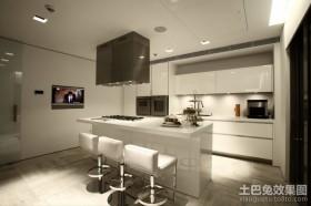 现代时尚的现代风格整体橱柜装修效果图大全2012图片