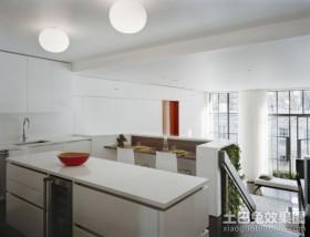 创意设计复式厨房装修效果图