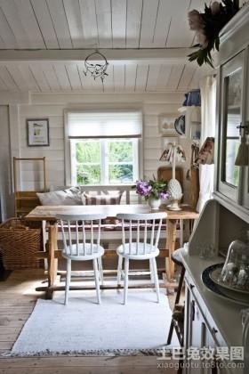 北欧风情50平米小户型餐厅装修效果图大全2012图片
