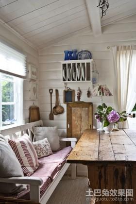 北欧风情50平米小户型客厅装修效果图大全2012图片