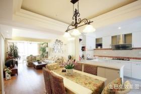 80平米小户型餐厅装修效果图大全2012图片