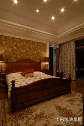 美式田园风格卧室装修效果图大全2012图片
