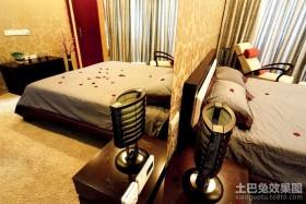 三房两厅现代卧室装修效果图大全2012图片