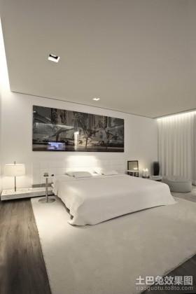 色彩凝重的北欧风格卧室装修效果图大全2012图片