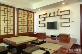 中式风格客厅榻榻米装修效果图