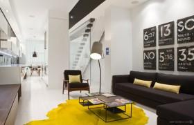 现代复式客厅装修效果图大全
