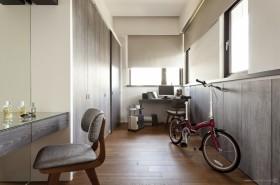 现代素雅的三居室书房装修效果图大全2012图片