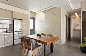 现代风格三居室餐厅装修效果图大全