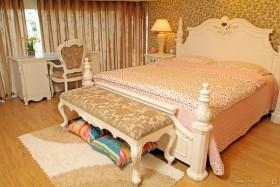 乡村田园风格小户型卧室装修效果图大全2012图片