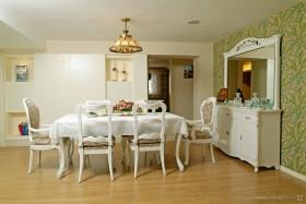 乡村田园风格小户型餐厅装修效果图大全2012图片