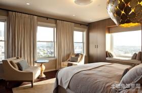 北欧卧室吊顶灯装修效果图