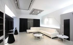 现代二居室客厅装修效果图