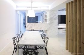 现代二居室餐厅装修效果图