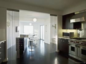 简约小复式厨房装修效果图大全2012图片