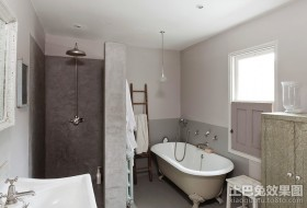 70平米北欧小户型卫生间装修样板间