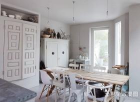 70平米小户型北欧风格餐厅装修效果图大全2013图片