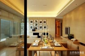三房两厅现代餐厅装修效果图大全2012图片