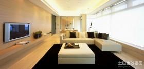 三房两厅现代客厅装修效果图大全2012图片