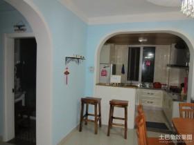地中海小户型厨房装修效果图大全2012图片