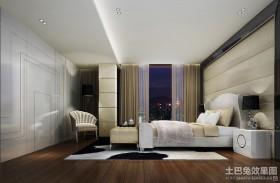 后现代别墅装修卧室图片